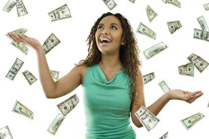 Its raining money